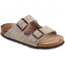 Arizona Soft Footbed Taupe Suede - 951303