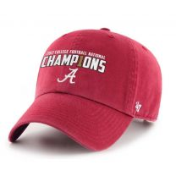 Alabama Crimson Tide National Champs Clean Up Cap