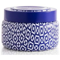 Blue Jean Printed Travel Tin Candle