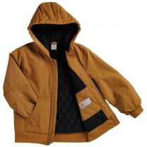 Boy's Active Jac Quilted Flannel Lined Jacket