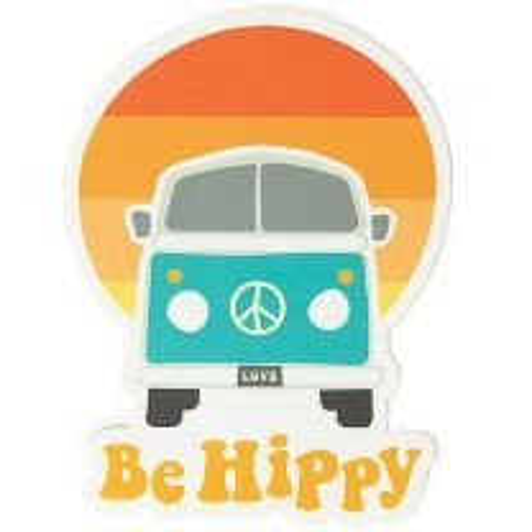 Bus Sunset Sticker