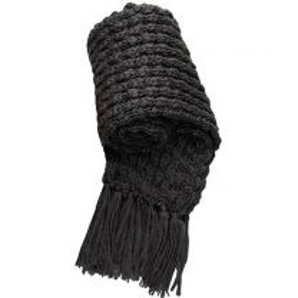 Chunky Knit Acrylic Scarf