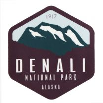 Denali National Park Sticker