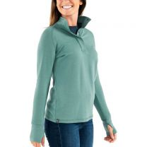 Women's Bamboo Thermal Fleece Pullover