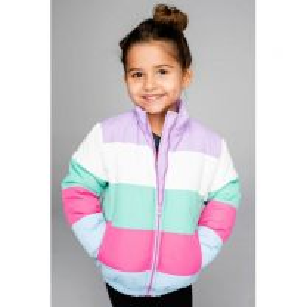 Girl's Willow Pastel Puffer Jacket