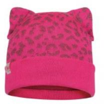 Junior Knitted and Fleece Hat Alisa
