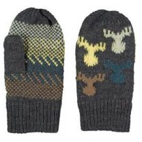 Kid's Moose Knit Mitten