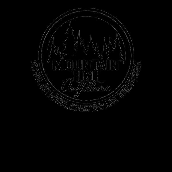 Kids' Striped Medium Hiking Crew Socks