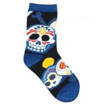 Kid's Sugar Skulls Socks