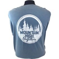 MHO Distressed Circle Long Sleeve Tee