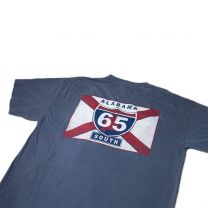 Men's 65 South Logo Short Sleeve Pocket Tee