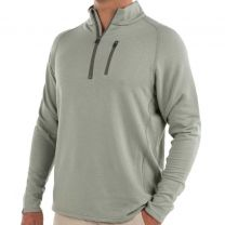 Men's Bamboo Fleece Quarter Zip Mid-Layer/Top-Layer - 1/4 Zip