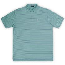 Men's Bermuda Performance Polo - Chenier Stripe