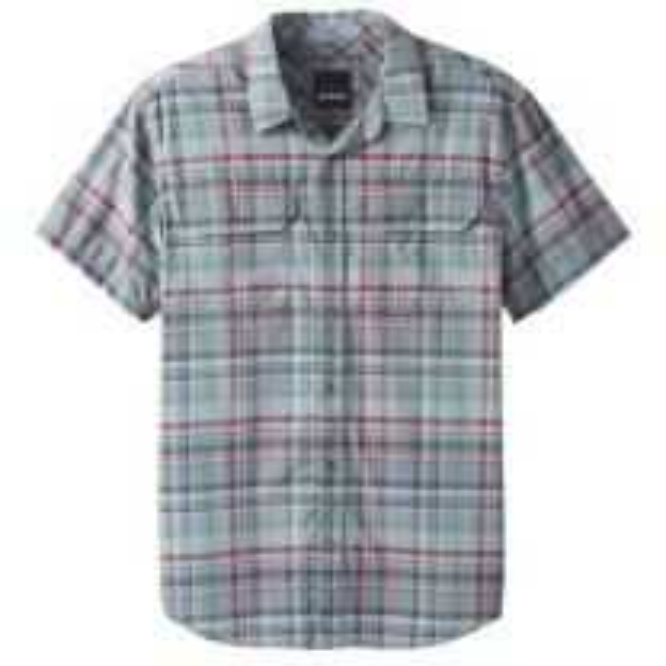 Men's Cayman Plaid Short Sleeve Shirt