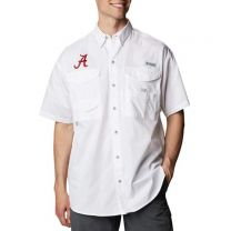 Men's Collegiate Bonehead Short Sleeve Shirt - Alabama