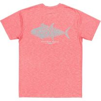 Men's FieldTec Heathered Performance Tuna Short Sleeve Tee