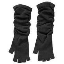 Men's Fingerless Knit Long Gloves