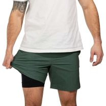 "Men's Give It Olive You Gots 7"" Compression Short"