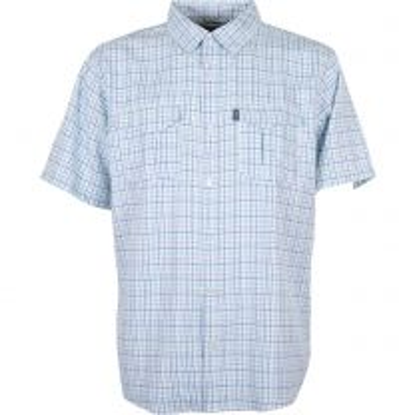 Men's Intersection Short Sleeve Button Down Shirt