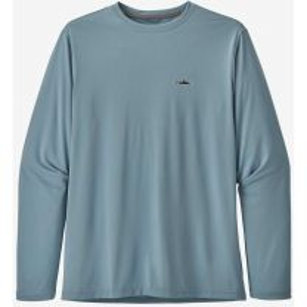 Men's Long Sleeve Capilene Cool Daily Fish Shirt