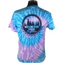 Men's MHO Circle Short Sleeve Tie Dye Tee