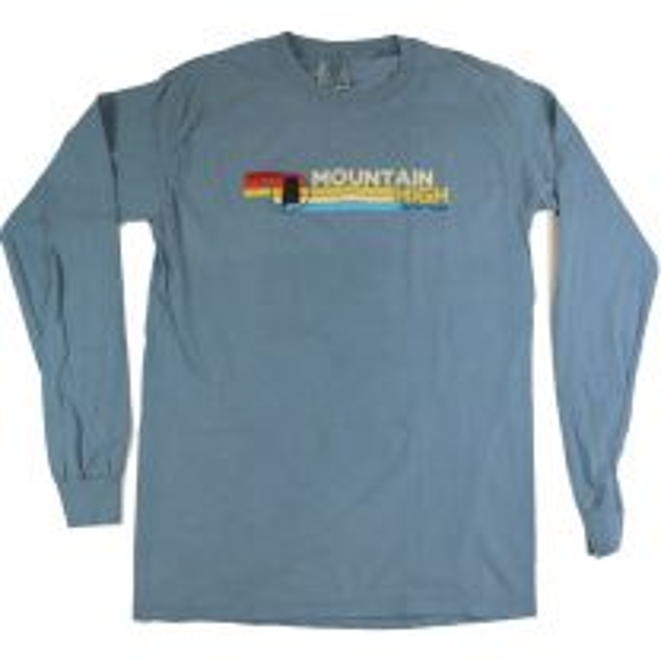 Men's MHO Comfort Colors LS- Alabama Retro Stripe