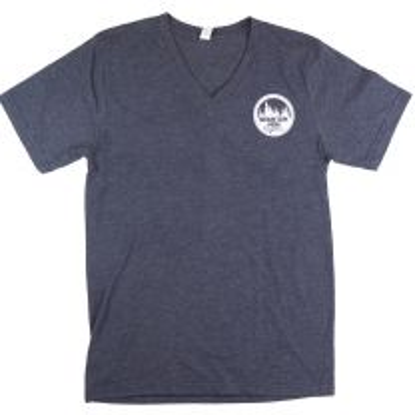 Men's MHO Vnck Short Sleeve Tee-Circle Logo