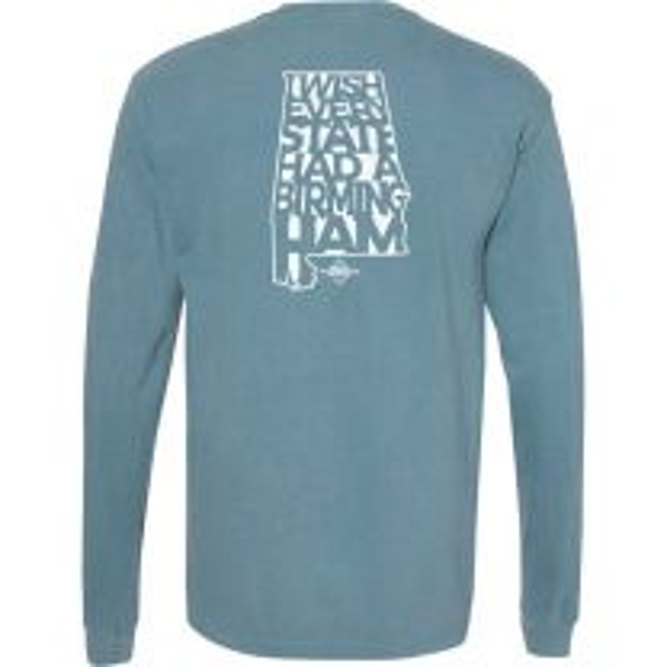 Men's Riley Green Bham Long Sleeve T-Shirt