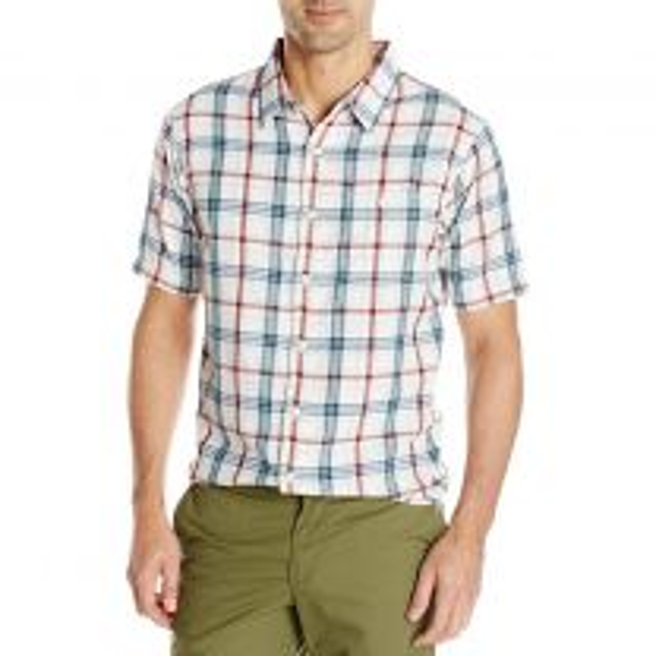 Men's River Plaid Short Sleeve Shirt