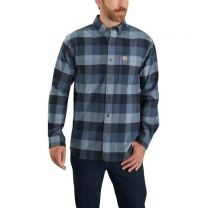 Men's Rugged Flex Relaxed Fit Flannel Shirt