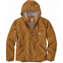 Men's Washed Duck Sherpa Lined Jacket