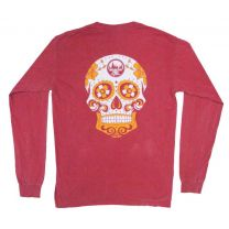 MHO Comfort Colors Pocket Long Sleeve - Skull