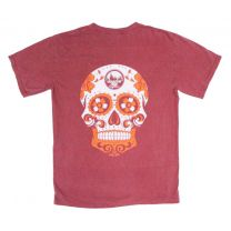 MHO Comfort Colors Pocket Short Sleeve - Skull