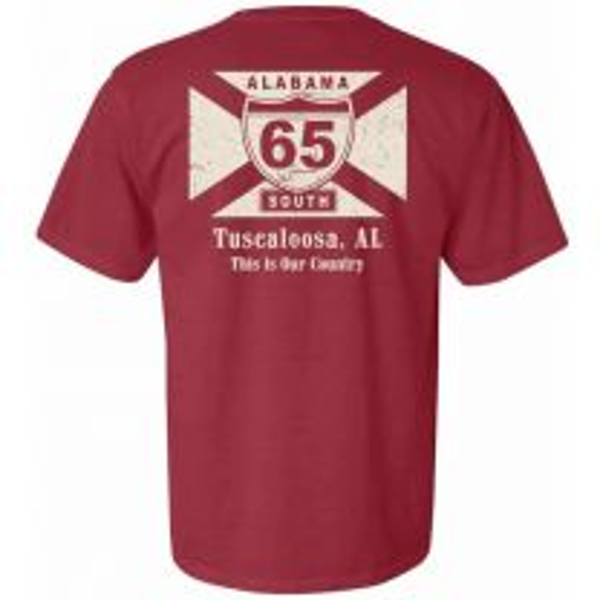 My Town Tuscaloosa Short Sleeve Tee