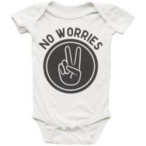 No Worries Infant Onesie