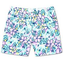 The Vacation Blooms Stretch Trunks - 5.5""