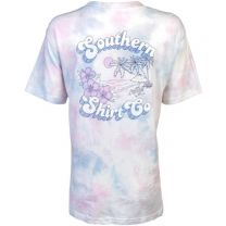 Watercolor Palms Tie Dye Tee