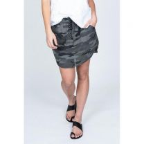 Women's Double Weave Camo Skirt
