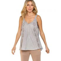Women's Flowy Embroidered Tank