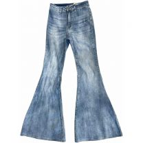 Women's High Rise Extra Flare Jeans