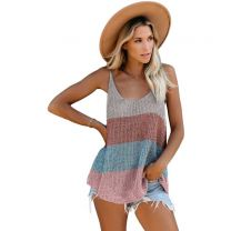 Women's Knitted Cami Tank Top