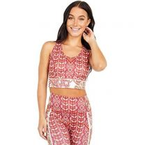Women's Printed Synergy Crop