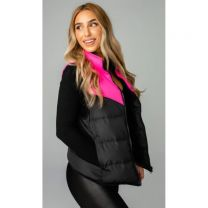 Women's Tanya Two Tone Puffer Vest