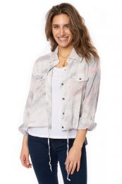 Women's Tie Dye Tencel Pocket Shirt