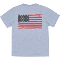 Youth Seawash Short Sleeve Tee - Vintage Flag
