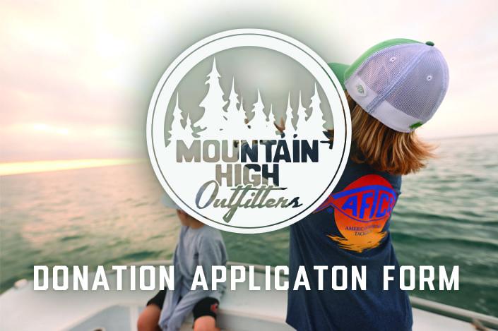 Donation Application Form
