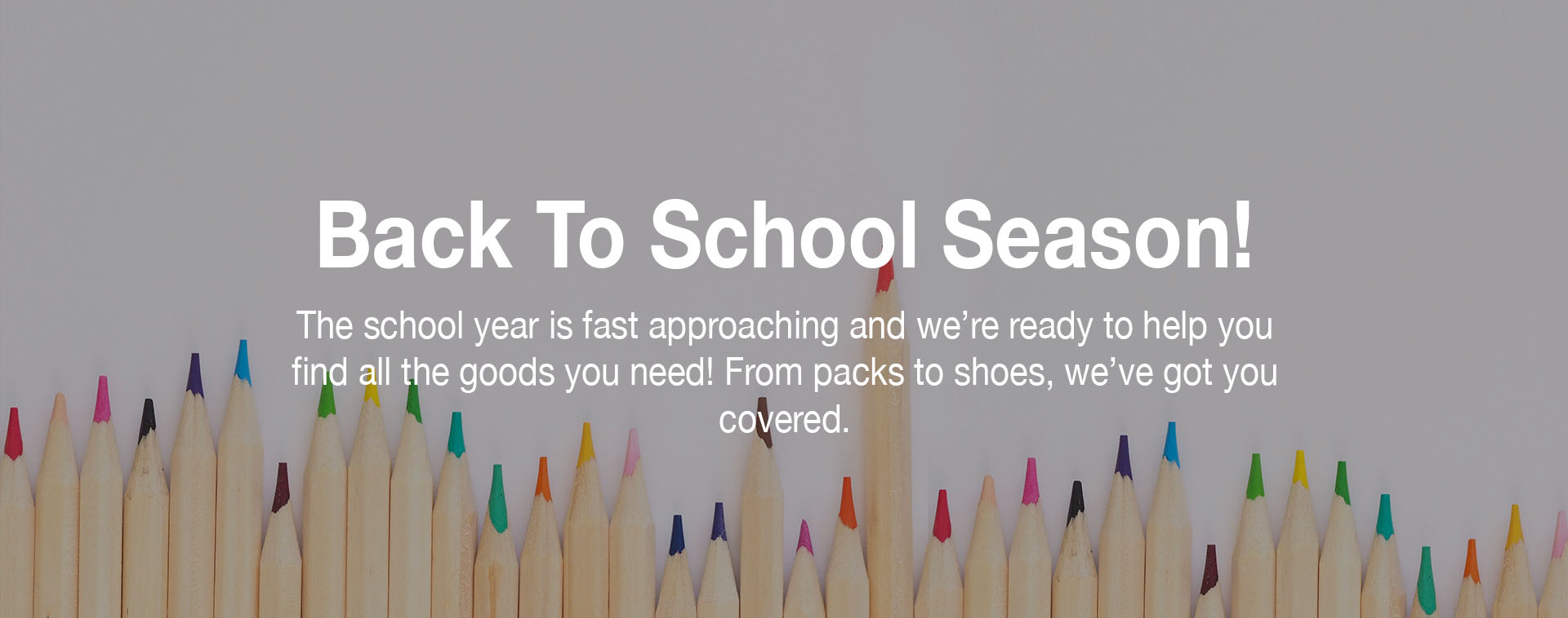 Mountain High Outfitters - Back To School
