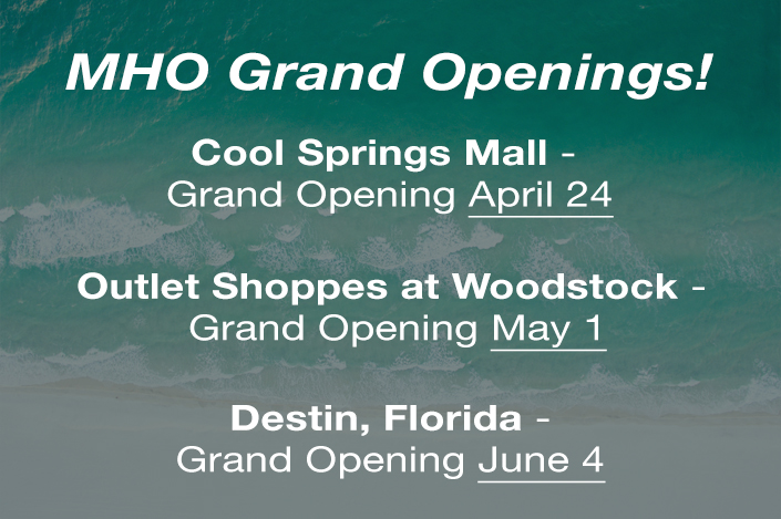 Mountain High Outfitters - Grand Openings